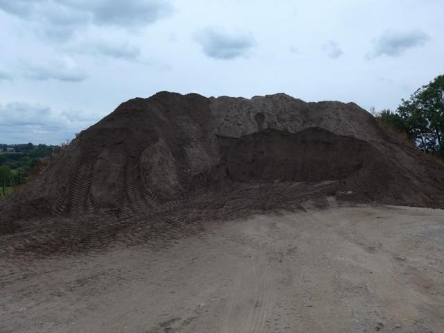 Terres provenant de Sclessin – légèrement polluées