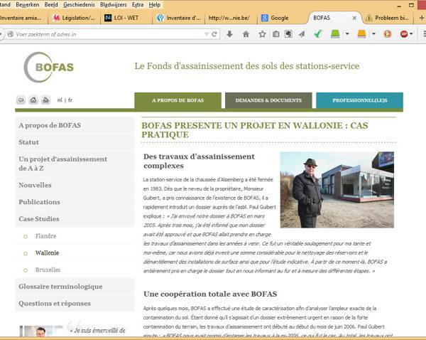 Bofas website